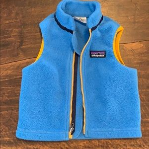 Patagonia Baby Synchilla Fleece Vest 3-6 months